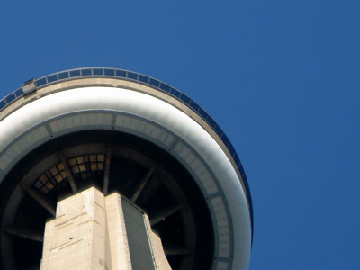Colour photo of the CN Tower